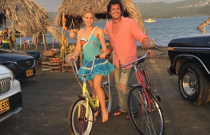Shakira y Carlos Vives: Demandan su canción 'La Bicicleta'