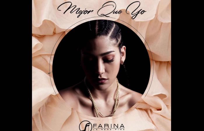 Farina Lanza su nuevo tema 'Mejor que yo'. Foto: Instagram.