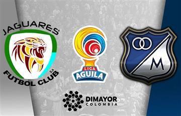 Jaguares vs. Millonarios: Hora en transmisión EN VIVO