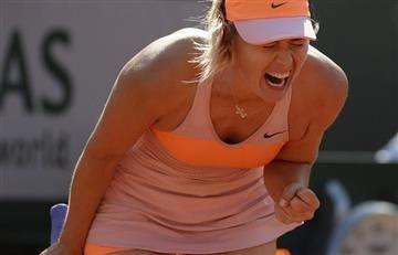 Sharapova no sería invitada al Roland Garros