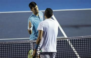 Djokovic fue sorprendido en Acapulco por Nick Kyrgios