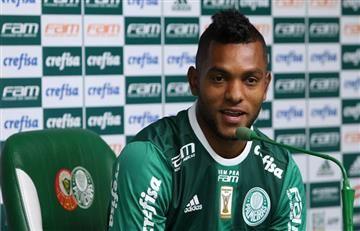 Miguel Ángel Borja marcó en Brasil