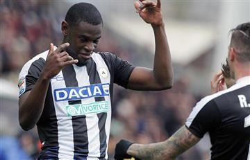 Duván Zapata se reportó con gol ante la Juventus