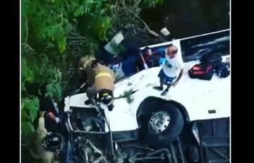 Panamá: Trágico accidente de un autobús deja varios muertos