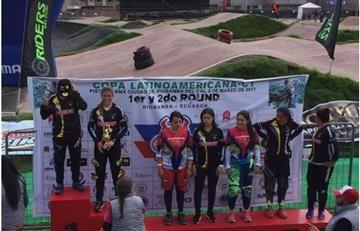 Colombia barrió a sus rivales en Copa Latinoamericana de BMX
