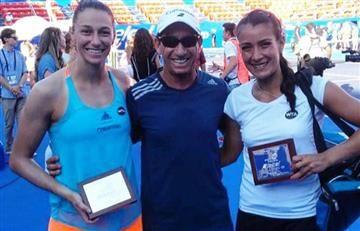 Mariana Duque subcampeona de dobles en Acapulco, junto a Cepede