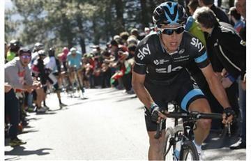 Sergio Luis Henao en el top 10 de la general en la Paris-Nice