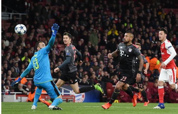 Bayern Múnich terminó de destrozar al Arsenal en el Emirates Stadium