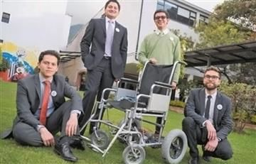 Colombianos crean silla de ruedas que se mueve con los ojos