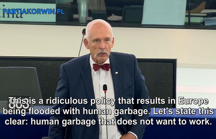 Eurodiputado misógino: Más de 280.000 firmas piden su suspensión