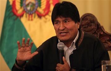 """Evo Morales tiene una """"tumoración"""" benigna en la laringe"""