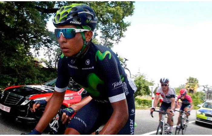 Nairo Quintana inicia con buen pie la Tirreno-Adriático