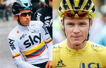 Sergio Luis Henao se refiere a la estrategia de Froome en el Tour de Francia