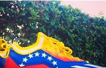 Venezuela se indigna por estos tenis de un beisbolista nacional