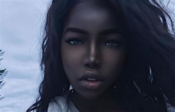 """Instagram: La """"Barbie negra"""" conquista al mundo por su belleza"""