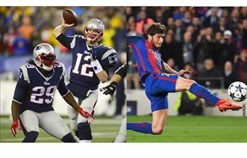 New England Patriots le dedica contundente mensaje al FC Barcelona