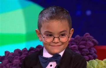Niño antioqueño con el coeficiente de Einstein sorprende en televisión
