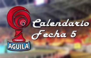 Torneo Águila: Así se jugará la fecha 5
