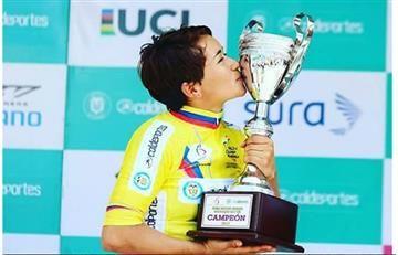 En las entrañas de un sueño: crónica de la mejor ciclista de Colombia