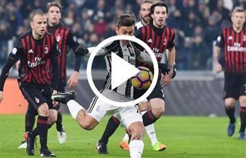 Juventus vs. AC Milan: Transmisión EN VIVO