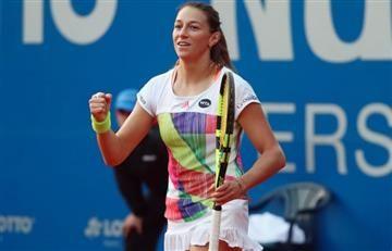 Mariana Duque se instaló en la segunda ronda del Indian Wells