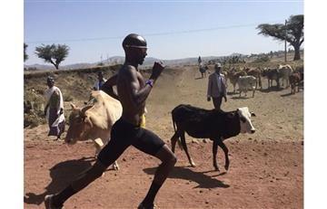 Mo Farah y el increíble entrenamiento en el desierto