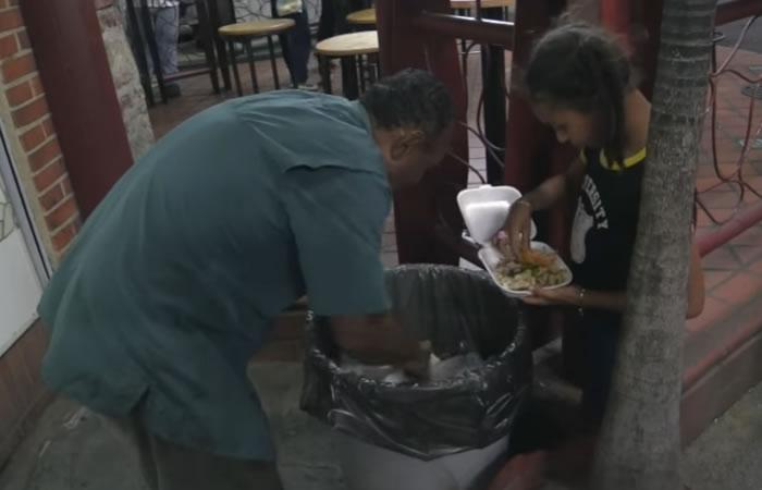 La dura situación de venezolanos. Foto: Youtube