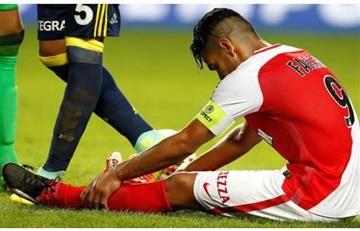 Falcao podría haberse lesionado de nuevo