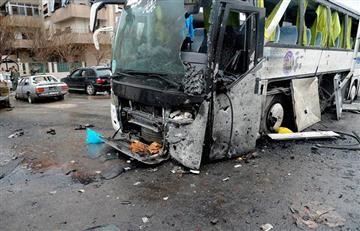 Siria: Al menos 40 de los muertos en atentado en Damasco
