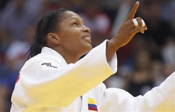 Yuri Alvear campeona del Grand Slam de Judo