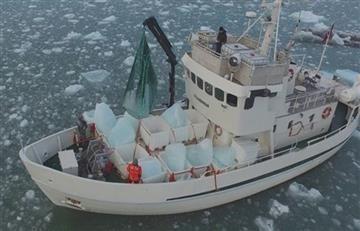 Empresa derrite icebergs para vender 'agua de lujo'