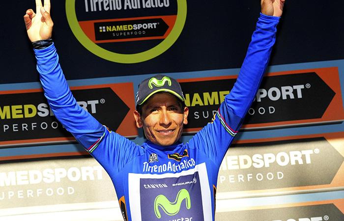 Nairo Quintana continúa líder de la general