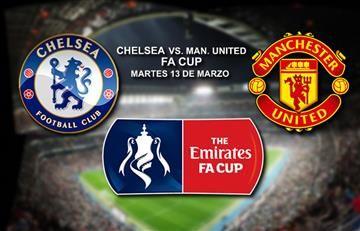Chelsea vs. Manchester United: Transmisión EN VIVO