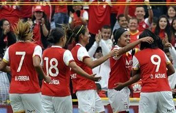 Liga Colombiana Femenina: Santa Fe sigue imparable