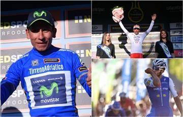 Nairo, Gaviria y Egan protagonizan el día perfecto para Colombia