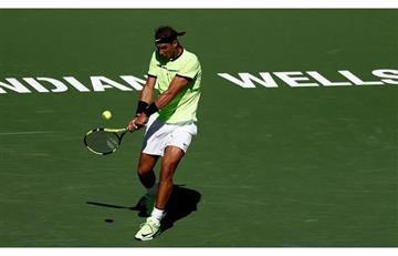 Nadal gana y espera jugar de nuevon Federer en el Indian Wells