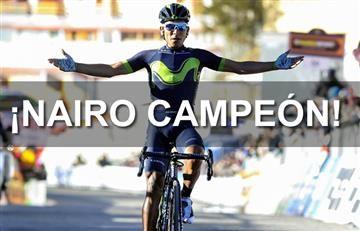 Nairo Quintana campeón de la Tirreno-Adriático