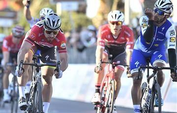 Sagan y el gran gesto con Fernando Gaviria