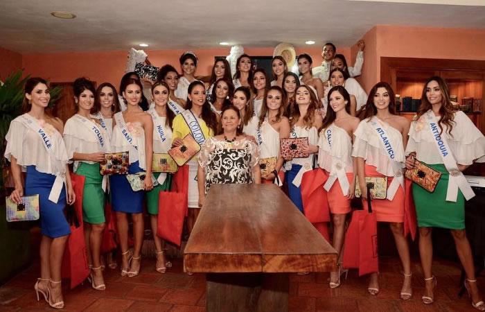 Concurso Nacional de belleza 2017. Foto: Instagram.