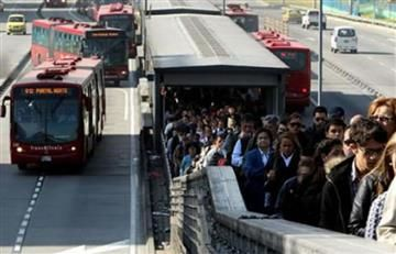 Bogotá: Usuarios de Transmilenio convocan a un gran plantón