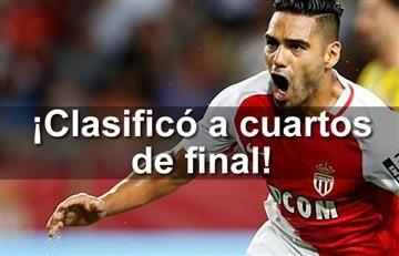 Falcao y el Mónaco a la siguiente ronda de Champions