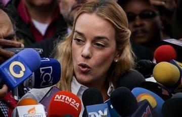 Lilian Tintori fue expulsada de Ecuador