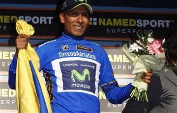 Nairo Quintana ganó este dinero con su victoria en Tirreno Adriático