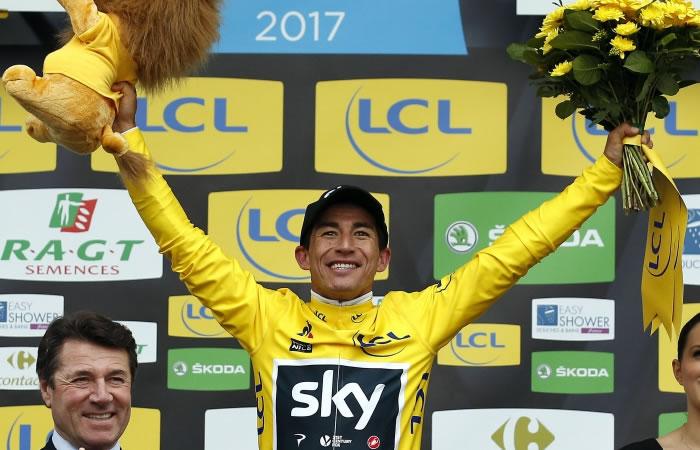 Henao y la comparación que hace del Team Sky con Colombia