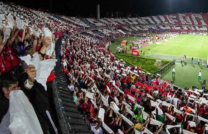 Independiente Medellín: Increíble lo que hizo la hinchada del 'poderoso'
