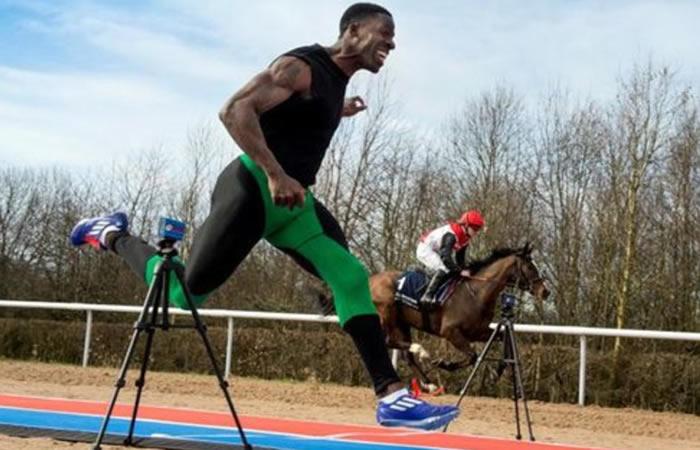 Viral: El atleta que es más rápido que un caballo