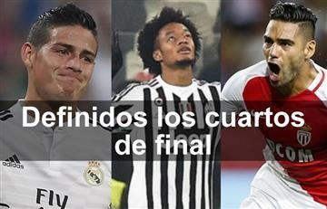 Champions League: así quedaron los cuartos de final para los colombianos