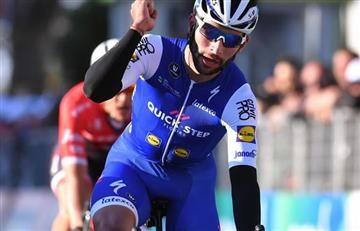 Fernando Gaviria se accidentó previo a la Milan San Remo y así quedó