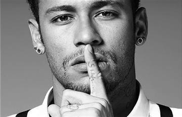 Neymar revolucionó las redes con esta imponente imagen