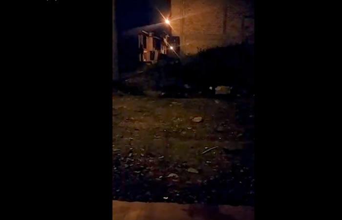 El hecho ocurrió en el barrio Los Naranjos en Popayán. Foto: Captura YouTube.